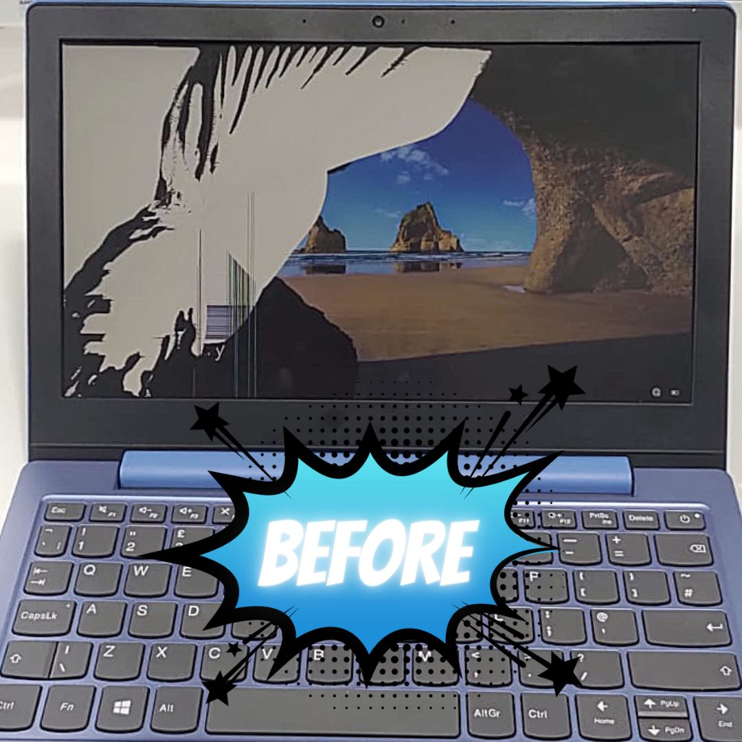 Can Laptop Screens Be Repaired Easily And Quickly? Acrylic PC Repairs Northwich, Middlewich, Winsford, Knutsford, Cheshire